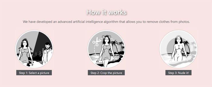 Một ứng dụng loại bỏ quần áo khỏi ảnh của phụ nữ và đó là một trường hợp kinh tởm về việc AI đang bị lạm dụng