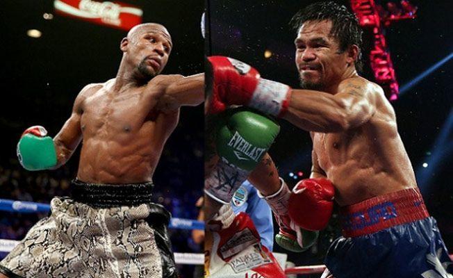 Floydas Mayweatheris pralenkė Manny Pacquiao: 10 faktų apie turtingiausią kovą bokso istorijoje