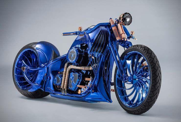 10 fets al·lucinants sobre la Harley Davidson Blue Edition, la moto més cara del món